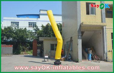 Chine Type gonflable jaune, danseurs Inflatables d'air de publicité fournisseur