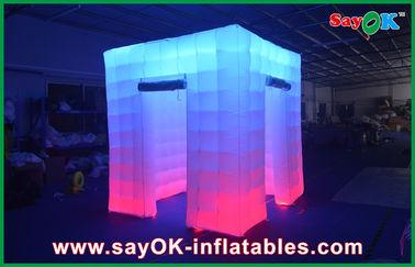 Chine grande cabine menée gonflable de photo de 2.4x2.4x2.5m épousant les cabines gonflables fournisseur