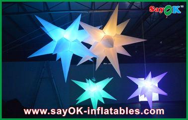 Chine Épouser l'étoile menée gonflable accrochante de décoration gonflable d'éclairage fournisseur