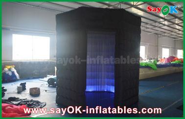 Chine Le plus nouveau tissu gonflable d'Oxford de cabine de photo d'octogone de Lingting pour épouser ou événement fournisseur