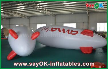 Chine zeppelin gonflable de publicité de flottement d'avion d'hélium de ballon de 5m pour la promotion fournisseur