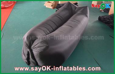 Chine Airbags gonflables de sommeil adaptés aux besoins du client par noir léger pour le tissu de nylon de plage fournisseur