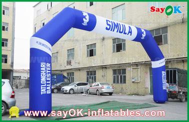 Chine Voûte gonflable d'événement extérieur de PVC, voûte gonflable de finition de Finsh de sports fournisseur