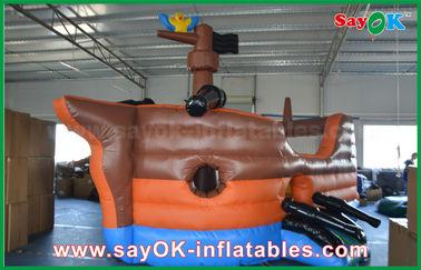 Chine Château gonflable de glissière de videur de grande de corsaire forme de bateau pour le jeu de sortes fournisseur