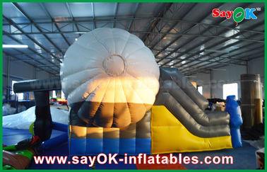 Chine Glisseur gonflable de rebond de forme extérieure d'avion avec le ventilateur de la CE/UL pour le jeu fournisseur