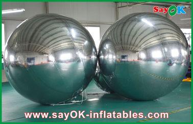 Chine Grande taille adaptée aux besoins du client de miroir de PVC par boule gonflable pour la décoration d'événement fournisseur