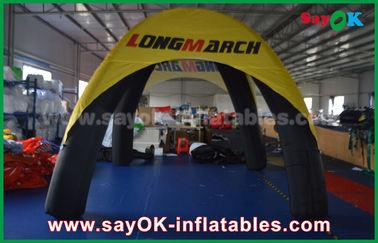 Chine Le logo a imprimé la tente gonflable de dôme d'araignée de tente d'air de 4 jambes avec le matériel de PVC fournisseur
