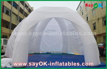 Chine Tente gonflable de publicité blanche d'araignée d'exposition gonflable géante de PVC fournisseur