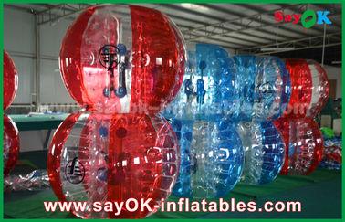 Chine Le football gonflable de boule de bulle de jeux de sports de PVC/TPU de taille de la Reine fournisseur
