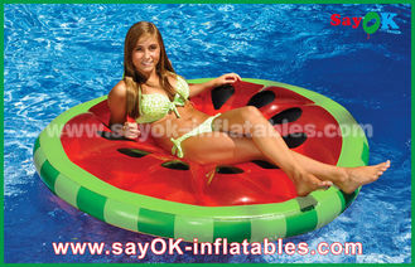 Chine Jaune/rouge/piscine gonflable crue de flotteur de piscine tranche de fruit joue pour la natation fournisseur