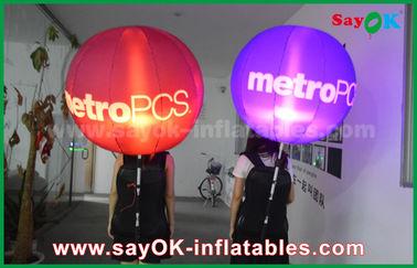 Chine Entreprise de location légère gonflable menée variable de décoration de ballon de sac à dos de lumières fournisseur