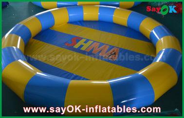 Chine L'eau gonflable serrée adaptée aux besoins du client d'air joue la piscine de PVC pour le jeu d'enfants fournisseur