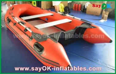 Chine Bateaux gonflables de PVC de bâche durable avec le plancher et les palettes en aluminium fournisseur