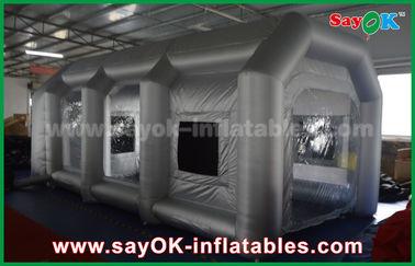 Chine Tente gonflable mobile d'air/cabine de jet gonflable avec le filtre pour la couverture de voiture fournisseur
