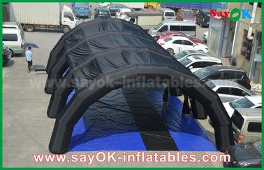 Chine Tente gonflable adaptée aux besoins du client de tunnel de tarpulin de PVC de 0,55 millimètres pour annoncer/promotion fournisseur