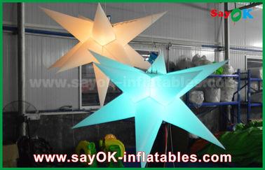 Chine Décoration gonflable durable d'éclairage, étoile gonflable avec la lumière menée fournisseur