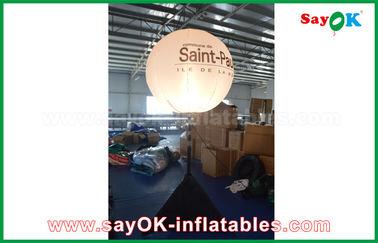 Chine 190T diamètre en nylon du tissu 1.5m annonçant le ballon gonflable de support de décoration d'éclairage avec le trépied fournisseur
