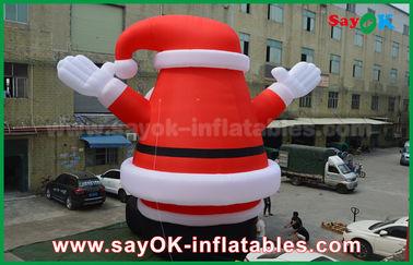 Chine Grand beau Père Noël gonflable extérieur pour la décoration de Noël fournisseur