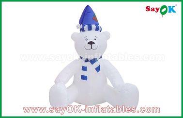 Chine 210 décorations gonflables de vacances de bonhomme de neige de Noël de tissu de D Oxfor adaptées aux besoins du client fournisseur