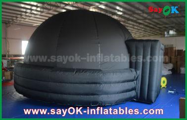 Chine Tente gonflable adaptée aux besoins du client de dôme de projection de diamètre de 5m/de 6m pour des enfants/adultes fournisseur
