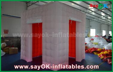 Chine LED allumant la cabine gonflable de photo avec 2 portes/tente gonflable fournisseur