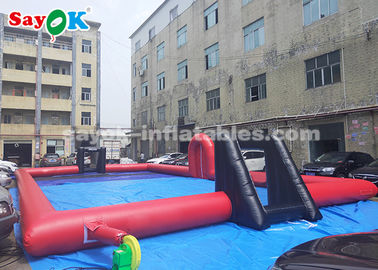 Chine jeux gonflables de sports de bâche de PVC de 20*10*2m/terrain de football gonflable fournisseur