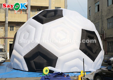 Chine tente gonflable durable du football de 8m H Oxford pour le salon commercial d'exposition de sports fournisseur