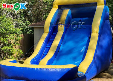 High Durability PVC Tarpaulin Inflatable Bouncer Slide / Adult Water Slide