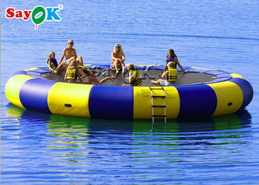 Floating Water Trampoline With Slide