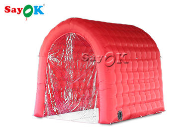 Red Fireproof Disinfection Channel Inflatable Medical Tent