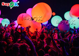 1.5m Inflatable Led Balloons For Party Event Advertisement