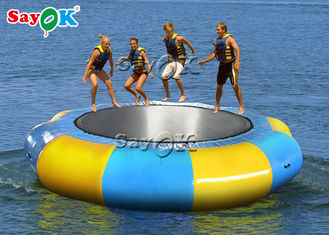 5m Adult Inflatable Water Trampoline For Water Park Games