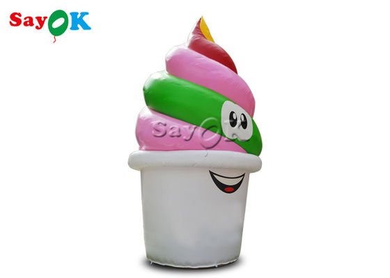 Custom 5mH PVC Inflatable  Ice Cream Cone Model