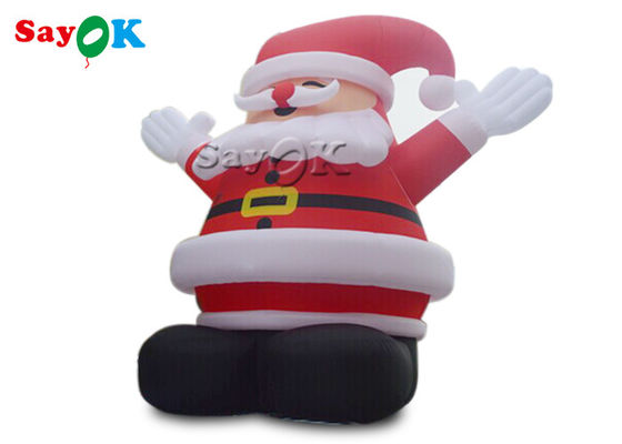 10m Christmas Inflatable Santa Model For Advertising