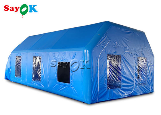 Mobile Oxford Inflatable Paint Spray Booth With Logo Printing