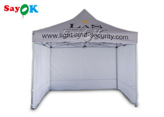 3 x 3m Aluminum Folding Tent With Three Side Walls Print for Advertising