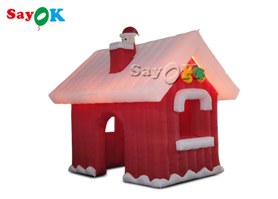 3*3*3m Oxford Inflatable Christmas Village House For Party