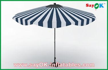 Chine Parapluie protecteur adapté aux besoins du client de Sun de poignée de plage de Sun de cadre en aluminium en bois de parapluie fournisseur