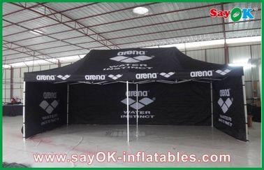 Chine Cadre en aluminium pliant la tente imperméable/tente extérieure géante de noir fournisseur