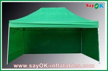 Chine Tissu se pliant professionnel de la tente 210D Oxford avec 3 parois latérales ignifuges fournisseur