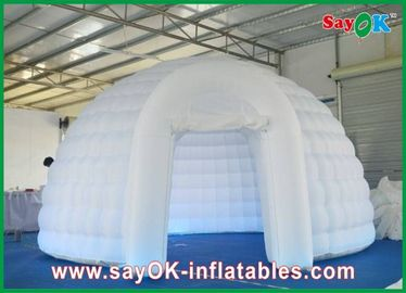 Dome Inflatable Air Tent Strong Fire-proof Cloth With Led Lights