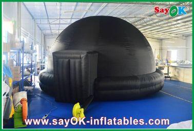 Chine Planétarium gonflable noir, cinéma gonflable durable de mobile de tente de projection fournisseur