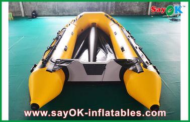 Chine le fond en aluminium 3.3m de bateaux gonflables de PVC de 0.8mm longtemps pour 5 personnes fournisseur