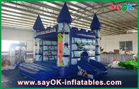 Chine Potiron drôle de Halloween de PVC de rebond de Chambre gonflable durable de château pour des enfants usine