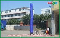Chine Danseur gonflable bleu de ciel d'air de type avec l'utilisation inférieure de mariage de ventilateur usine
