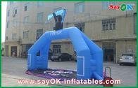 Chine Ligne d'arrivée gonflable imperméable d'événement de PVC logo gonflable de voûte d'entrée de voûte imprimé usine
