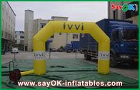 Chine Preuve matérielle de l'eau de PVC de voûte gonflable faite sur commande de ventilateur de la CE/UL usine