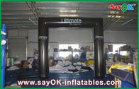 Chine Arcade gonflable de tube de PVC de voûte de botte noire avec le ventilateur de la CE/UL usine
