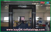Chine Porte pliable imperméable de porte de place de cube en PVC de modèle gonflable de voûte avec le logo usine