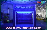 Chine Arc-en-ciel allumant la tente de camping gonflable d'air d'exposition gonflable de tente société